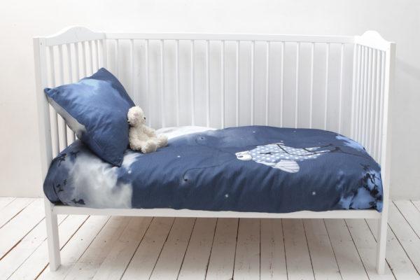 Väikelaste voodipesukomplekt Täiskuu 2; Toddlers bedding set Full moon 2; Bettwäsche für Kleinkinder Vollmond 2