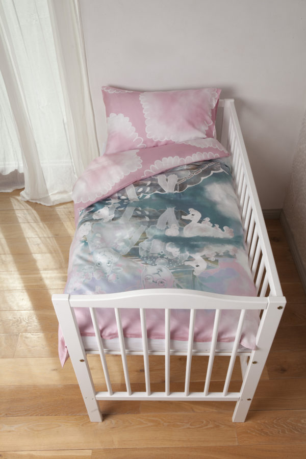 Toddler's bedding set By the river 1