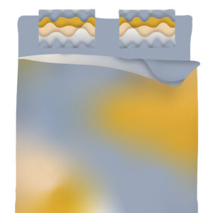 Double bedding set Mice hunting ice cream